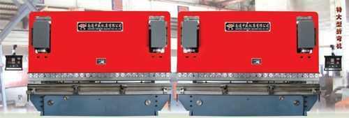 数控双机联动液压板料折弯机
