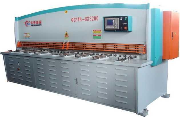 QC11Y(K)闸式(数控)剪板机