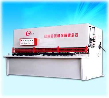 QC12Y系列液压摆式剪板机