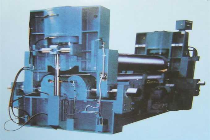 上辊水平移动式三辊系列卷板机