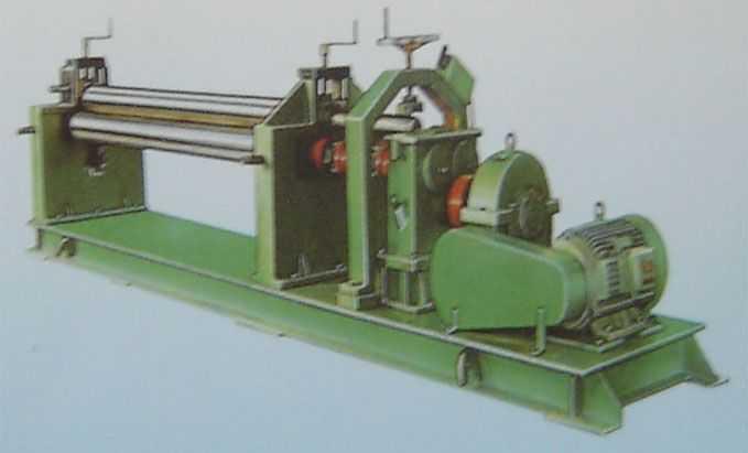 装璜专用型三辊卷板机