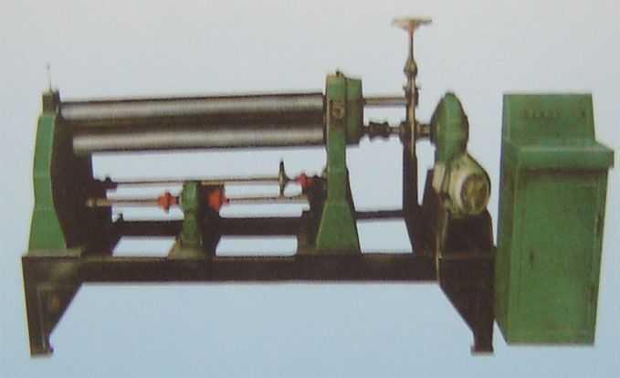 非对称式三辊卷板机