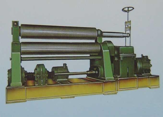 对称式三辊系列卷板机
