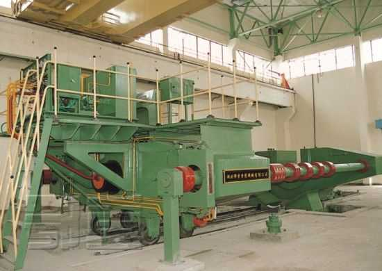 卧式轮轴压装机