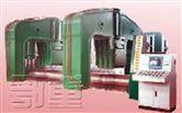 微控、液压水平下调式三辊卷板机