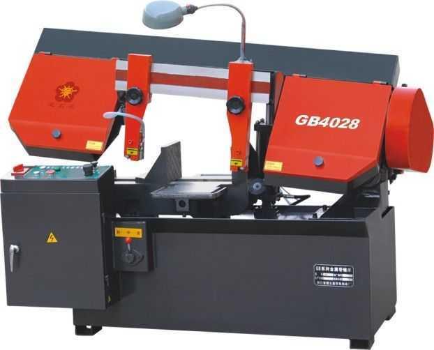 GB4028型卧式带锯床