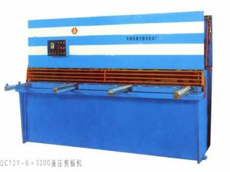 QC12Y20X4000数控液压摆式剪板机