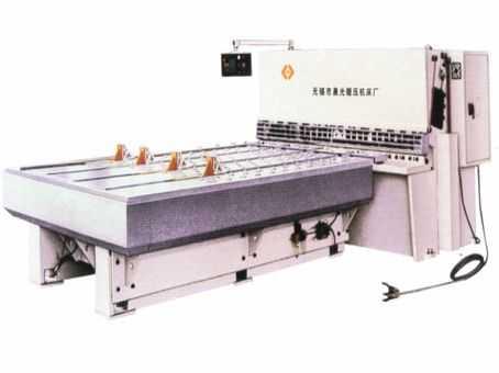 QC12K数控前送料液压摆式剪板机