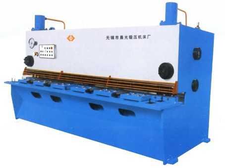 QC11Y闸式液压剪板机