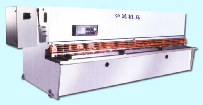 SGS 系列数控摆式剪板机