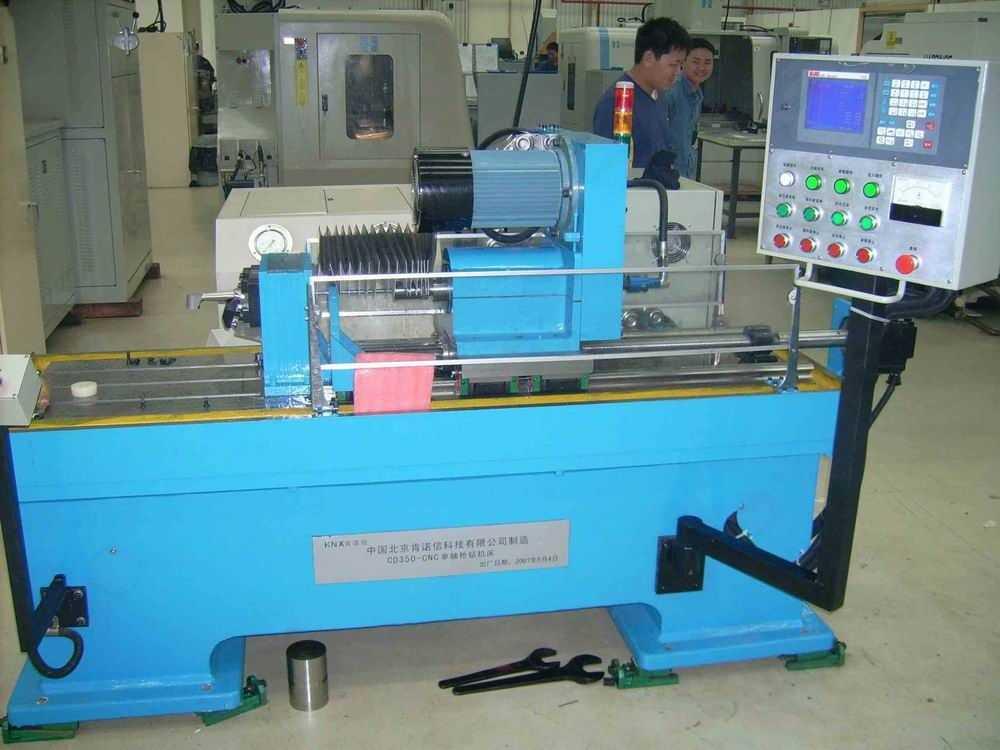 KNXCD350-CNC数控深孔枪钻专用机床