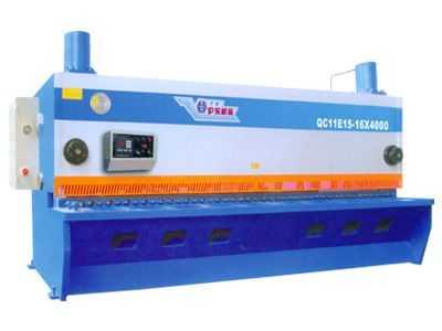 QC11E15系列液压数控闸式剪板机