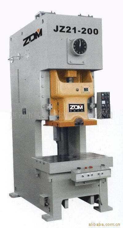浙江锻压高性能开式固定台压力机200B