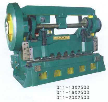 Q11系列机械式上传动剪板机