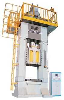 双面液压压砖机 液压螺旋压力机