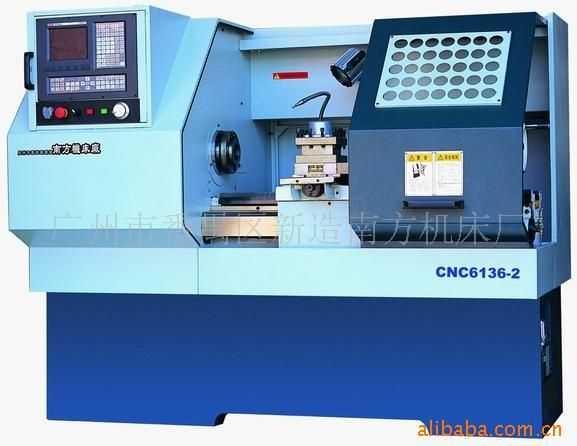 CNC6136变频调速数控车床(整体床脚结构)