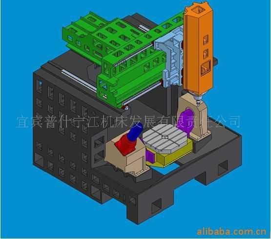 G996MSA高速五轴铣削中心