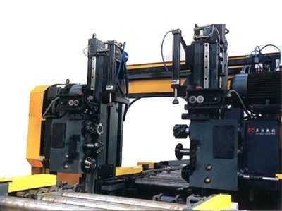 SKX型H型钢数控锁口铣床