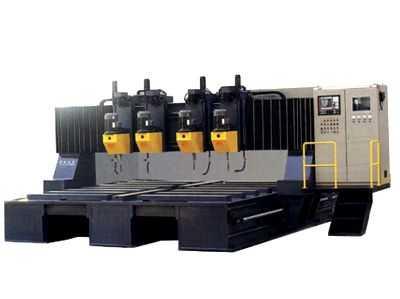 PZ型龙门移动式数控平面钻床铣端面打中心孔钻床