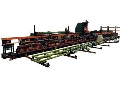 DLC55型车架纵梁平板数控冲孔生产线
