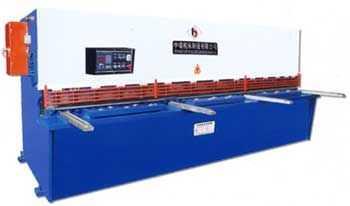 QC12K系列数控液压摆式剪板机