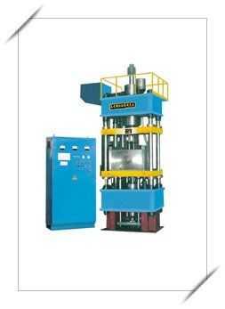 稀土永磁平行取向浮动双向成型液压机