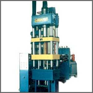 磁场取向全自动干粉成型液压机