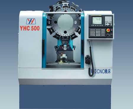 YHC500 高速攻牙中心机