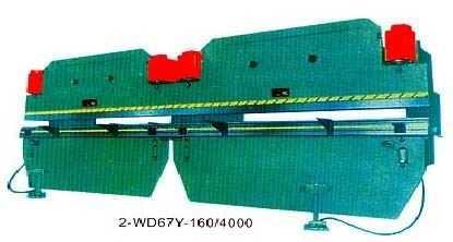 2-WD67Y系列双机联动液压板料折弯机