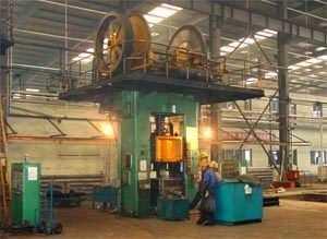 J67系列摩擦式压砖机