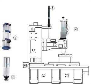 台湾欧境加工中心CNC主轴打刀缸