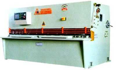 QC12K液压摆式数控剪板机