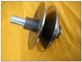 无段变速主轴皮带轮组
