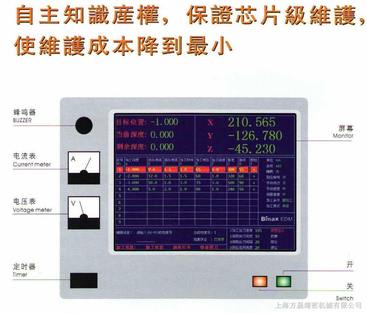 电火花机操作系统2