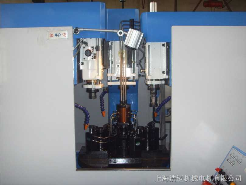 四工位转盘钻孔攻丝机