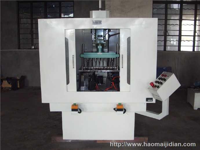 立式12轴钻孔机