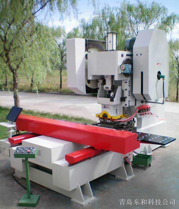 角钢横梁型材数控冲孔生产线