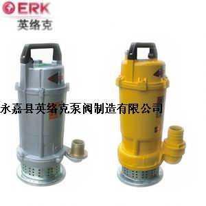 小型潜水电泵(铝壳)