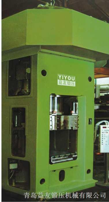 离合器式高能螺旋压力机