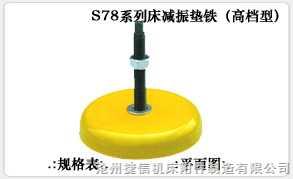 S78机床减震垫铁型号