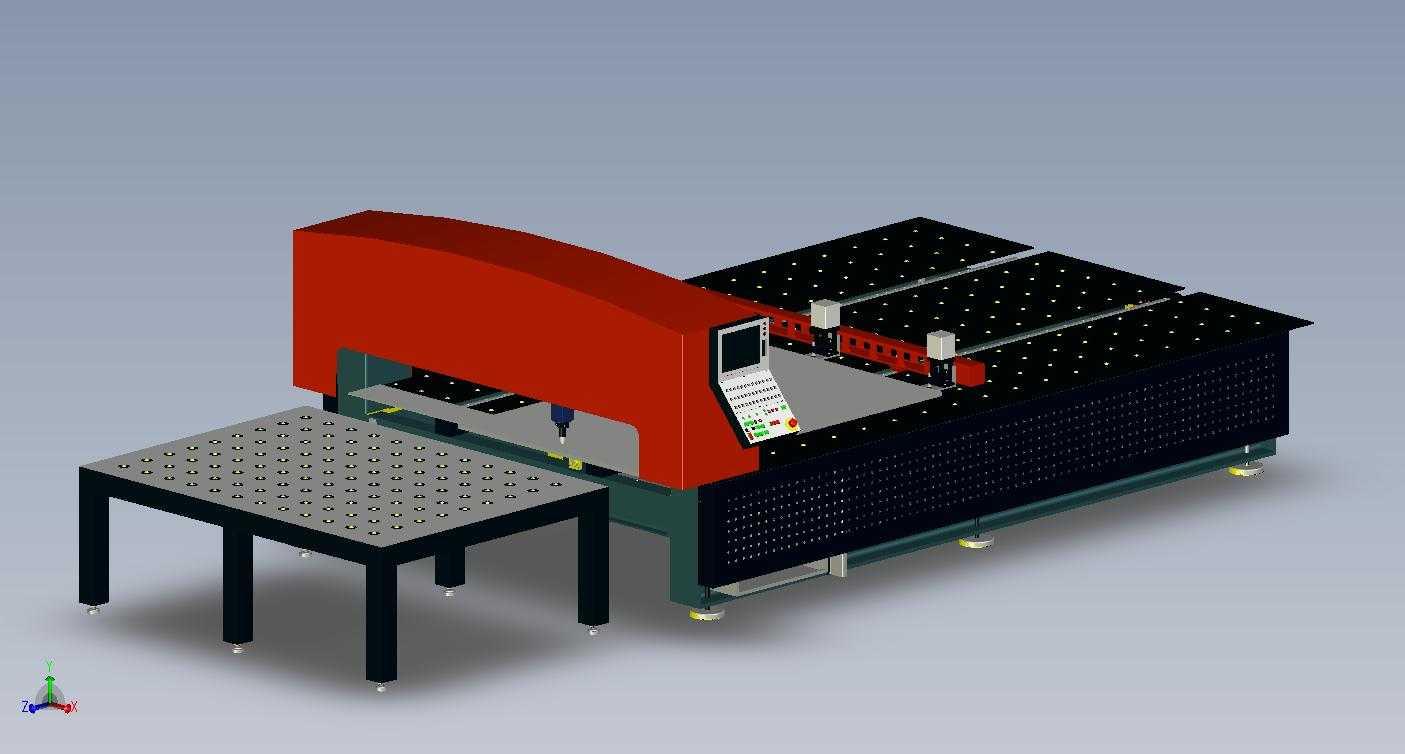 台式数控平面切割机
