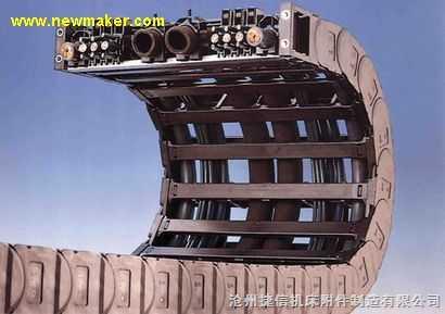 桥式塑料拖链-塑料坦克链