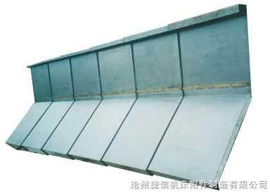 龙门刨铣床导轨防护罩
