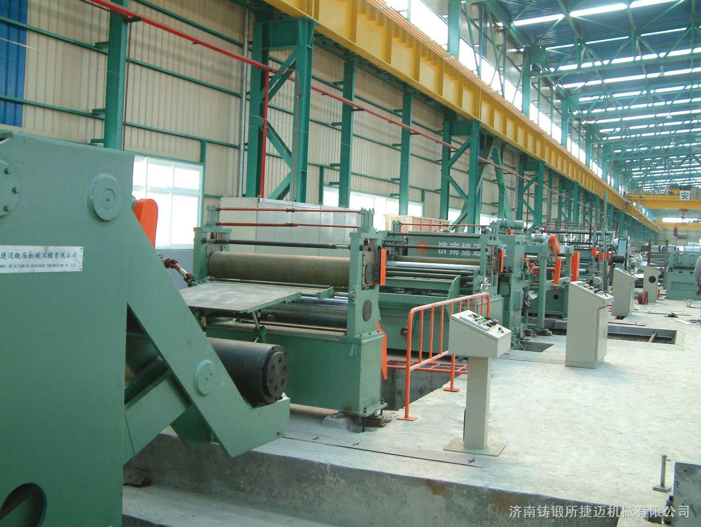 纵剪收卷横剪堆垛复合生产线3X2000