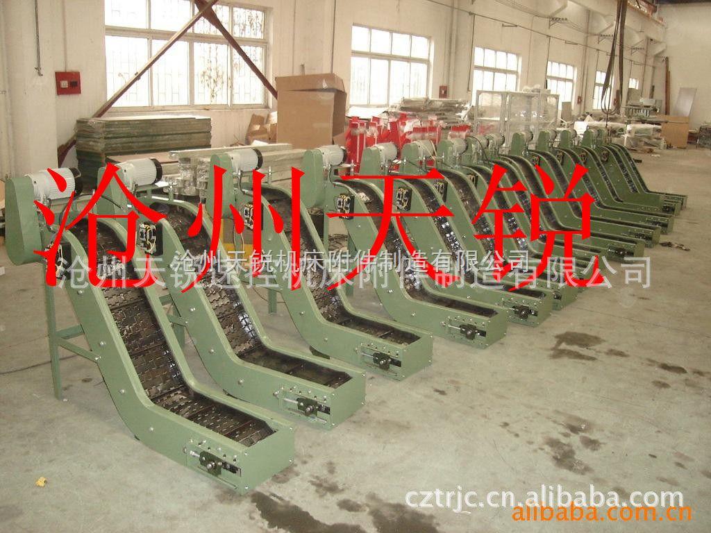 专业设计生产各种尺寸天锐牌链板式排屑机
