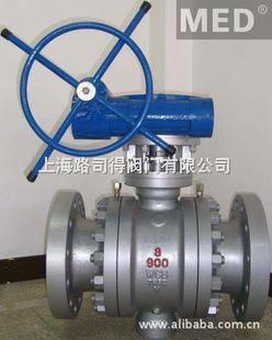 上海路司得阀门Q347F不锈钢固定球阀
