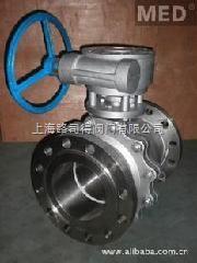 上海路司得阀门不锈钢铸钢法兰浮动球阀