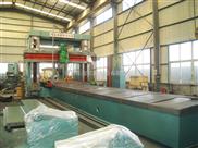 重型龙门刨铣床机身导轨中心距1500厂家