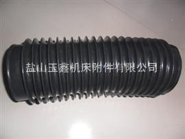 橡胶布伸缩防护罩(耐温-40度—-(+85度))