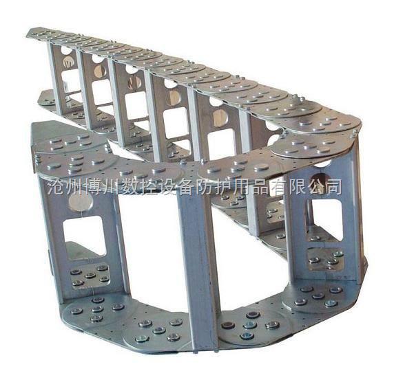 钢制拖链 TL125型钢制拖链 桥式钢制拖链